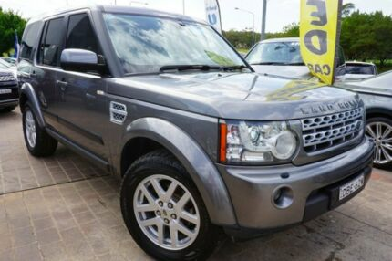 2011 Land Rover Discovery 4 Series 4 MY11 TdV6 CommandShift Grey 6 Speed Sports Automatic Wagon Pearce Woden Valley Preview