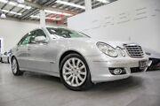 2007 Mercedes-Benz E280 211 MY07 Upgrade CDI Elegance Iridium Silver 7 Speed Automatic G-Tronic Port Melbourne Port Phillip Preview