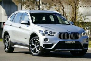 2016 BMW X1 F48 sDrive20i Steptronic Silver 8 Speed Sports Automatic Wagon Granville Parramatta Area Preview