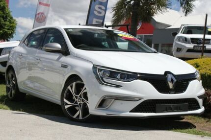 2016 Renault Megane BFB GT EDC White 7 Speed Sports Automatic Dual Clutch Hatchback