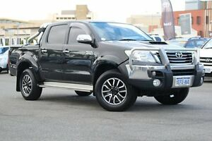 2013 Toyota Hilux KUN26R MY14 SR5 Double Cab Ink 5 Speed Automatic Utility Northbridge Perth City Area Preview