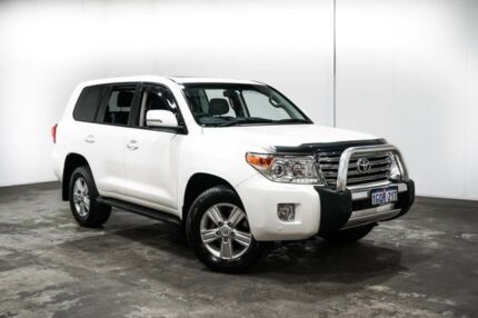 2013 Toyota Landcruiser URJ202R MY13 VX Glacier White 6 Speed Sports Automatic Wagon Welshpool Canning Area Preview
