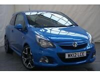 2012 Vauxhall Corsa 1.6 VXR 3d 189 BHP Petrol blue Manual
