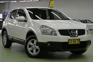 2008 Nissan Dualis J10 Ti X-tronic AWD White 6 Speed Constant Variable Hatchback Lisarow Gosford Area Preview