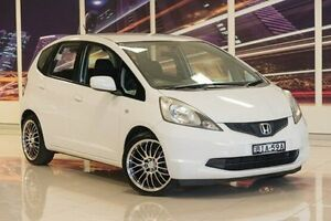 2008 Honda Jazz GE MY09 VTi White 5 Speed Automatic Hatchback Blacktown Blacktown Area Preview