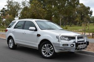 2014 Ford Territory SZ TS Seq Sport Shift AWD White 6 Speed Sports Automatic Wagon St Marys Mitcham Area Preview
