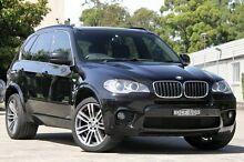 2013 BMW X5 E70 MY1112 xDrive30d Steptronic Black 8 Speed Sports Automatic Wagon Burwood Burwood Area Preview