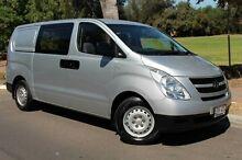 2008 Hyundai iLOAD TQ-V Crew Cab Silver 5 Speed Manual Van Thebarton West Torrens Area Preview
