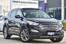 2013 Hyundai Santa Fe DM MY14 Highlander Black 6 Speed Sports Automatic Wagon Victoria Park Victoria Park Area Preview