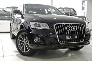 2016 Audi Q5 8R MY16 Black 7 Speed Sports Automatic Dual Clutch Wagon North Melbourne Melbourne City Preview