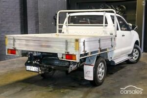 2007 Toyota Hilux KUN26R MY08 SR White 5 Speed Manual Cab Chassis