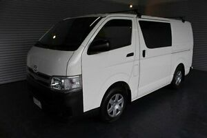 2011 Toyota Hiace TRH201R MY11 LWB White 5 Speed Manual Van Parramatta Park Cairns City Preview