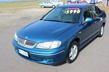 2001 Nissan Pulsar N16 Q Blue 4 Speed Automatic Sedan Burnie Burnie Area Preview