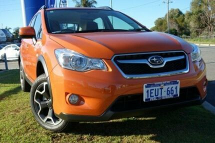 2015 Subaru XV G4-X MY14 2.0i AWD Tangerine Orange 6 Speed Manual Wagon Silver Sands Mandurah Area Preview