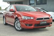 2009 Mitsubishi Lancer CJ MY10 VR Red 5 Speed Manual Sedan Hillcrest Port Adelaide Area Preview