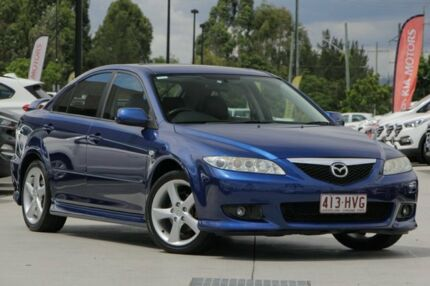 mazda 6 2004 hatchback. 2004 mazda 6 gg1031 my04 luxury sports blue 5 speed manual hatchback