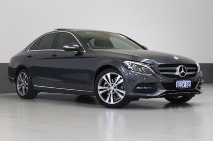 2014 Mercedes-Benz C200 205 Grey 7 Speed Automatic Sedan