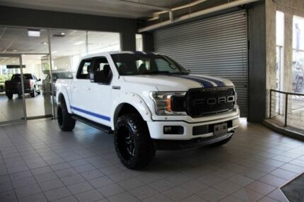 2018 Ford F150 XLT 4x4 Oxford White Automatic 4 X 4 DOUBLE CAB UTILITY Thornleigh Hornsby Area Preview