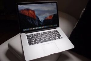 Macbook Pro Retina Display i7 15 inch PICK UP NOW!