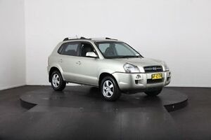 2007 Hyundai Tucson MY07 City Elite Gold 4 Speed Automatic Wagon McGraths Hill Hawkesbury Area Preview