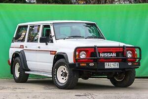 1996 Nissan Patrol GQ DX White Manual Ringwood East Maroondah Area Preview