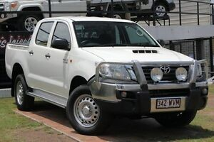 2014 Toyota Hilux KUN26R MY14 SR Double Cab Glacier 5 Speed Automatic Utility Woolloongabba Brisbane South West Preview