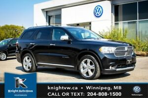 2012 Dodge Durango Citadel AWD w/ DVD/Navigation/Cooled Seats