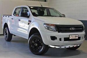 2013 Ford Ranger PX XL Double Cab White 6 Speed Manual Utility Blair Athol Port Adelaide Area Preview