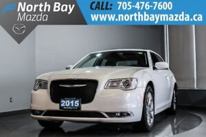 2015 Chrysler 300 Touring AWD with Nav, Leather, Panoramic Sunro