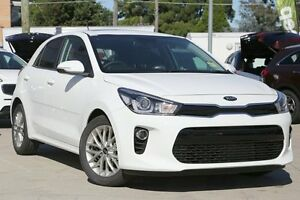 2017 Kia Rio YB SLi Clear White 4 Speed Automatic Hatchback Waitara Hornsby Area Preview