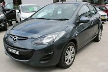 2012 Mazda 2 DE MY12 Neo Grey 5 Speed Manual Hatchback East Maitland Maitland Area Preview