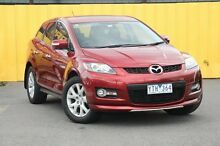 2008 Mazda CX-7 ER1031 MY07 Luxury Copper Red 6 Speed Sports Automatic Wagon Heatherton Kingston Area Preview