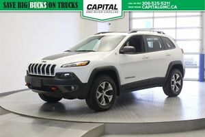 2015 Jeep Cherokee Trailhawk 4WD *Heated Seats-Remote Start-Leat