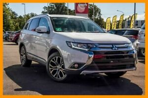 2016 Mitsubishi Outlander ZK MY16 LS 4WD White 6 Speed Constant Variable Wagon Aspley Brisbane North East Preview