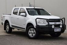 2013 Holden Colorado RG MY14 LX Crew Cab White 6 Speed Sports Automatic Utility Bellevue Swan Area Preview