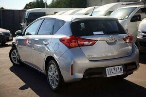2014 Toyota Corolla Silver Constant Variable Hatchback Frankston Frankston Area Preview