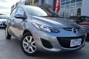 2013 Mazda 2 DE10Y2 MY14 Neo Sport Silver 4 Speed Automatic Hatchback Hoppers Crossing Wyndham Area Preview