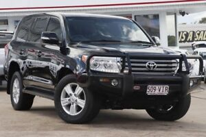 2014 Toyota Landcruiser VDJ200R MY13 VX Black 6 Speed Sports Automatic Wagon