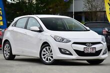 2013 Hyundai i30 GD Active Creamy White 6 Speed Manual Hatchback Southport Gold Coast City Preview
