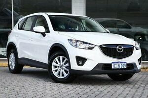 2013 Mazda CX-5 White Sports Automatic Wagon St James Victoria Park Area Preview