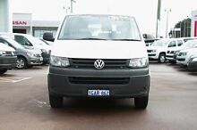 2013 Volkswagen Transporter T5 MY13 TDI340 LWB DSG White 7 Speed Sports Automatic Dual Clutch Van Cannington Canning Area Preview