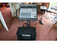 M-Audio ProjectMix I/O Firewire Audio Interface with Motorised Faders incl Carry Case