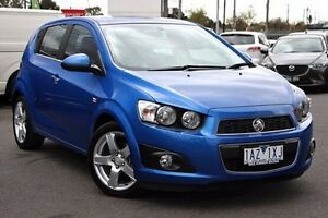 2014 Holden Barina TM MY14 CDX Blue 6 Speed Automatic Hatchback Coburg Moreland Area Preview