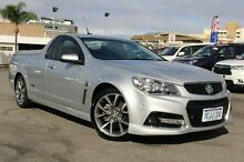 2013 Holden Ute VF MY14 SS V Ute Silver 6 Speed Manual Utility Northbridge Perth City Preview