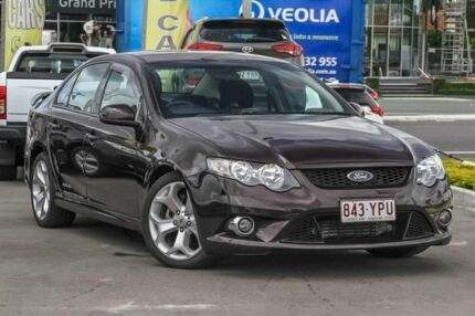 2009 Ford Falcon FG XR6 Turbo Purple/Black 6 Speed Sports Automatic Sedan Aspley Brisbane North East Preview