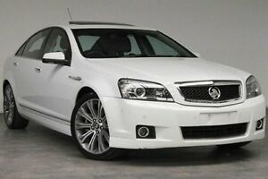 2015 Holden Caprice WN MY15 V White 6 Speed Sports Automatic Sedan Southbank Melbourne City Preview