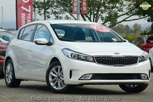 2016 Kia Cerato YD MY17 S Premium Clear White 6 Speed Manual Hatchback Mount Gravatt Brisbane South East Preview