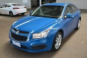 2015 Holden Cruze JH Series II MY15 Equipe Blue 6 Speed Sports Automatic Sedan Hoppers Crossing Wyndham Area Preview