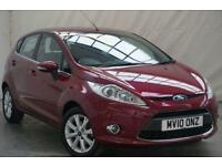 2010 Ford Fiesta 1.2 ZETEC 5d 81 BHP Petrol red Manual