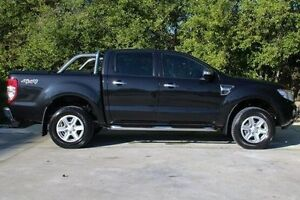 2012 Ford Ranger PX XLT Double Cab Black 6 Speed Sports Automatic Utility Ferntree Gully Knox Area Preview